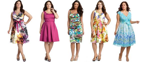 Modne sukienki dla puszystych